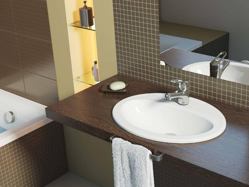 Деревянная столешница в ванную: выбор под раковину столешницы из слэба, массива и из других материалов