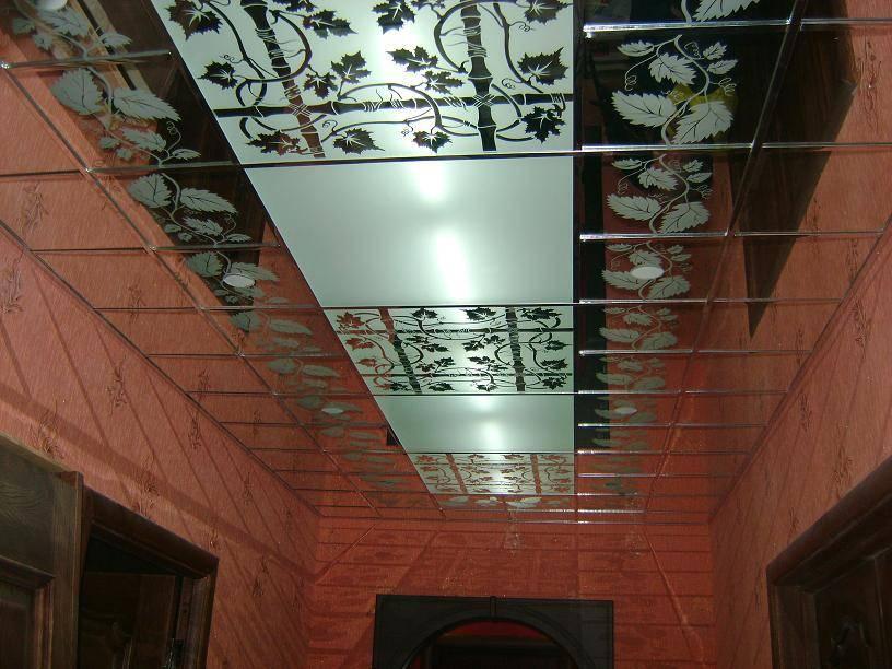 Стеклянный потолок – виды, варианты монтажа, инструкция