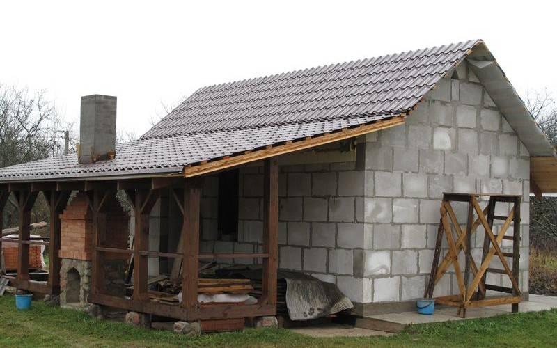 Строим гараж из пеноблоков — подробное пособие для новичков