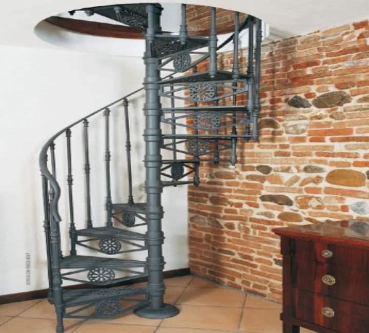 Винтовая лестница на чердак своими руками:Разновидностивинтовыхконструкций - Деревянные, металлические.