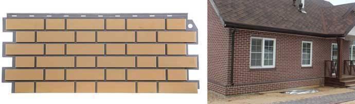 Инструкция по монтажу фасадного сайдинга под кирпич
