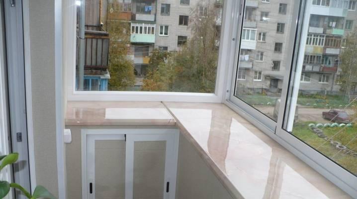 Подоконник на балконе своими руками: установка пошагово с фото и видео монтажа