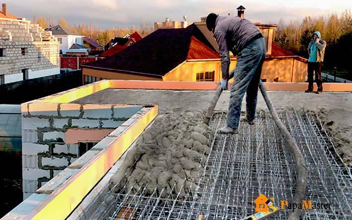 Монолитное строительство дома своими руками: технология и преимущества, схемы (видео)