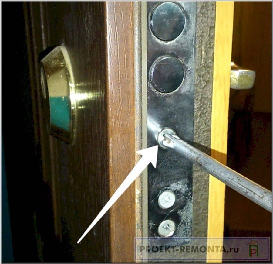 Ремонт металлических дверей. часто возникающие поломки и способы их устранения