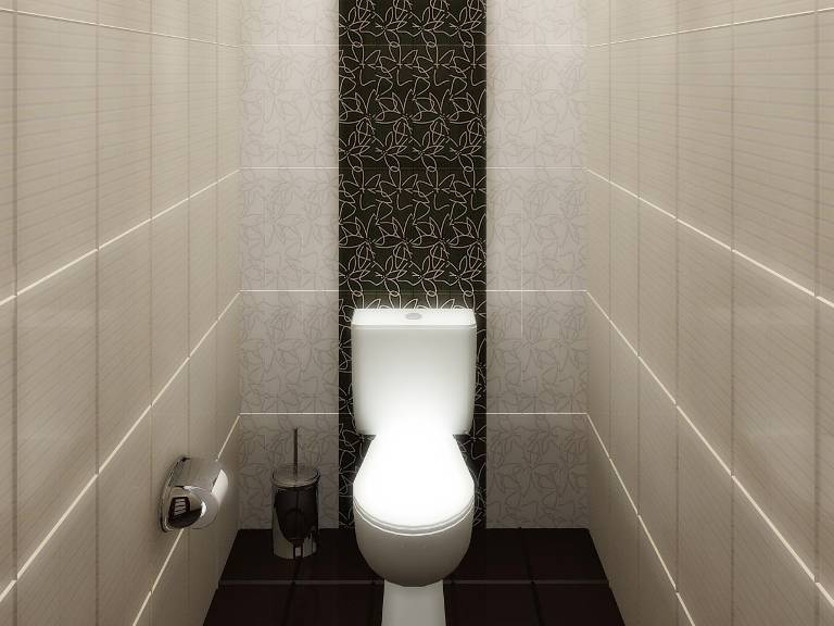 Отделка туалета пластиковыми панелями - пошаговая инсрукция