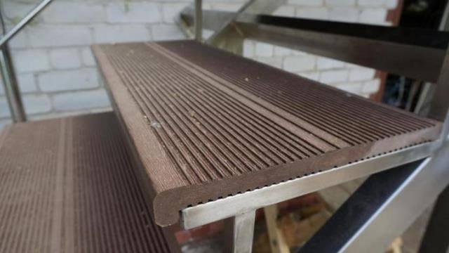 Доска для веранды: пластиковая или деревянный террасный декинг +фото