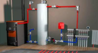 Теплый пол в частном доме: водяной или электрический