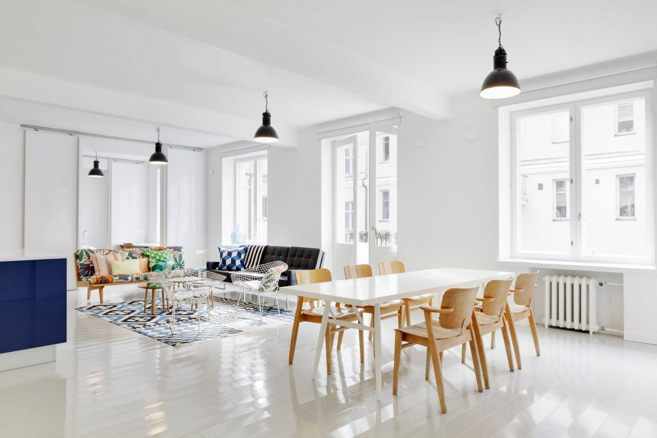 Кухня-гостиная: особенности скандинавского стиля ⋆ скандинавский стиль