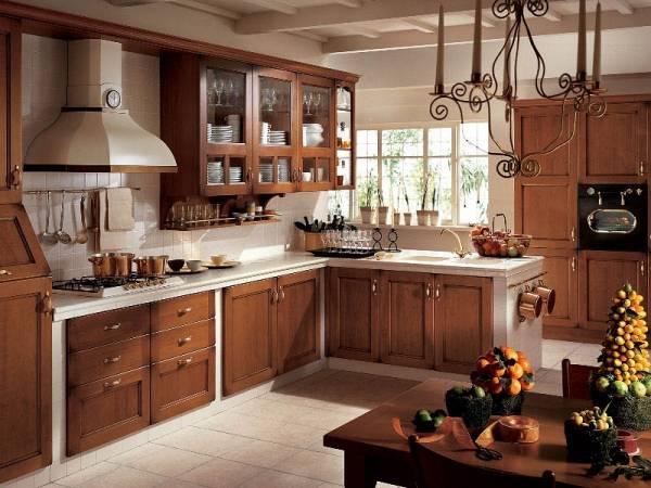Маленькая деревянная кухня: дизайн и отделка кухни из дерева (65 фото)   современные и модные кухни