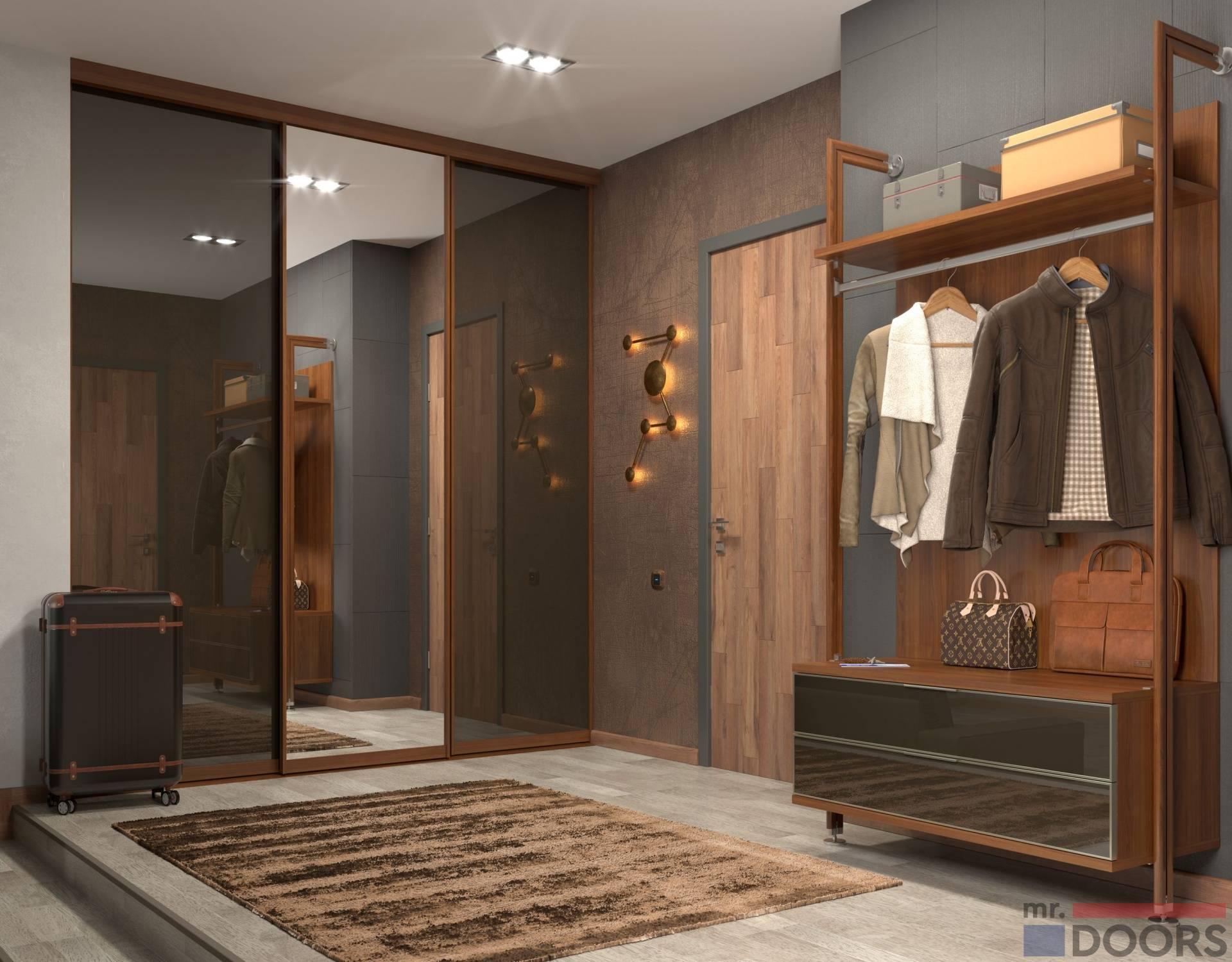 Угловой шкаф-купе в спальню: 160+ (фото) современного дизайна