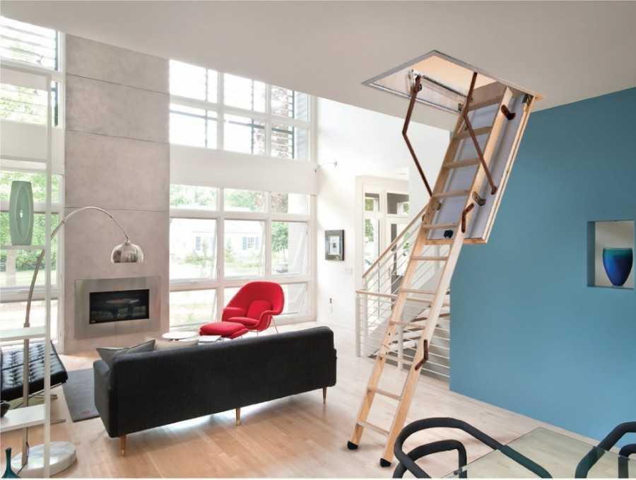 Лестницы на мансарду [47 фото] для небольшого частного дома, расчет размеров от перил до люка, как сделать лестницу на мансардный этаж своими руками с улицы