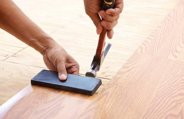Как правильно положить ламинат на бетонный пол - только ремонт своими руками в квартире: фото, видео, инструкции