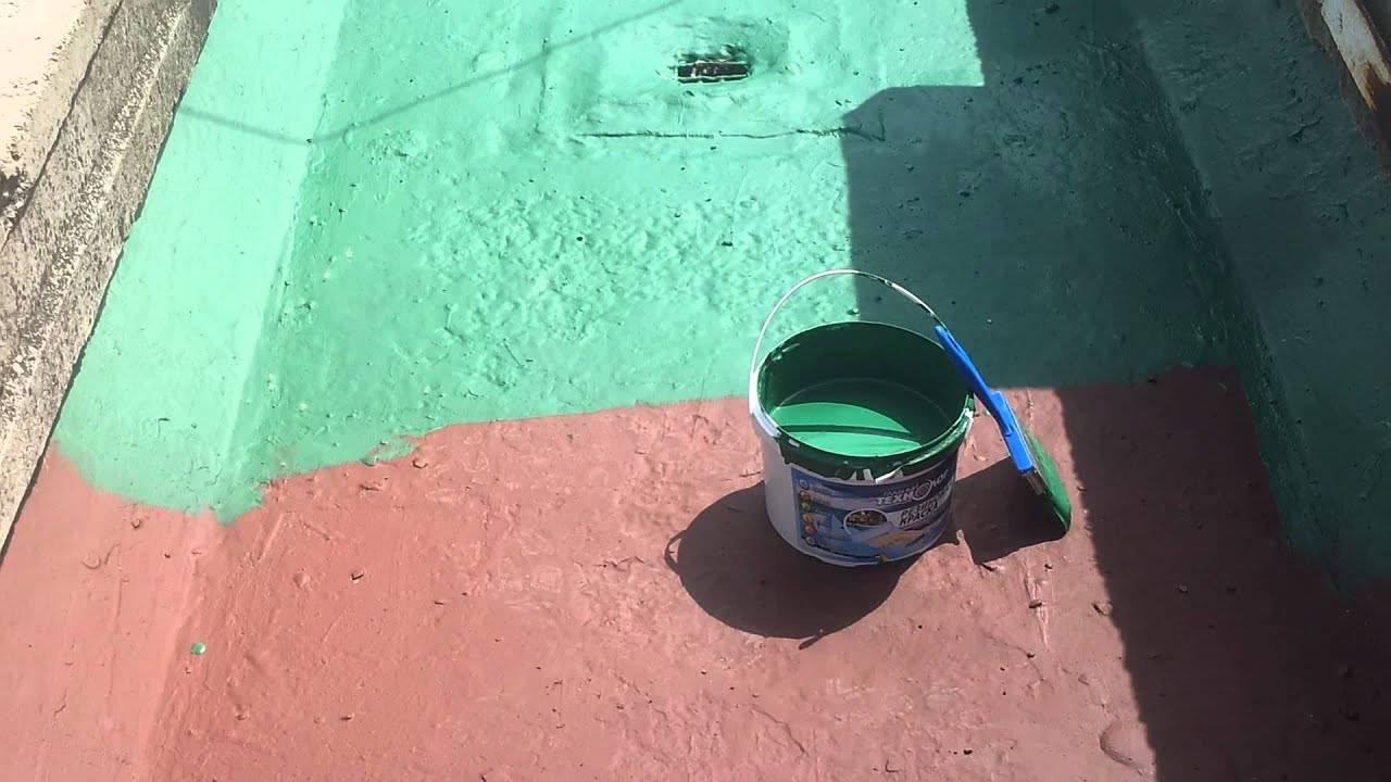 Резиновая краска: что это такое, описание, характеристики, применение, технология покраски, отзывы