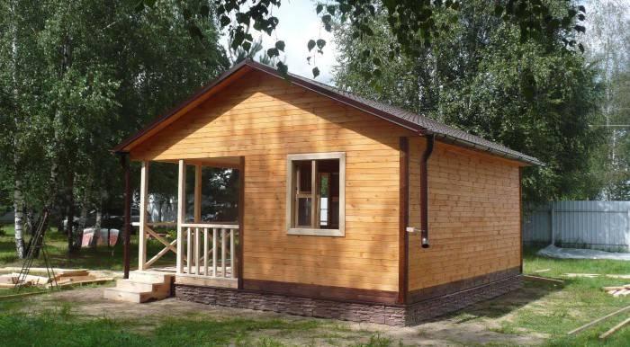 Самостоятельное строительство дома из бруса - с чего начать?