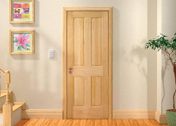 Выбираем двери из массива сосны: советы и рекомендации