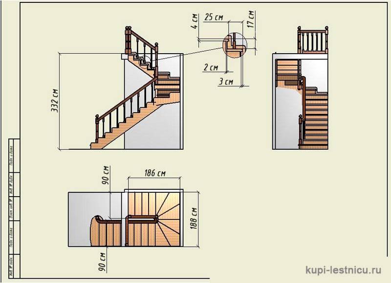 Проектирование забежных ступеней – теория