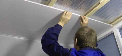 Утепление потолка пенопластом снаружи и изнутри в деревянном доме