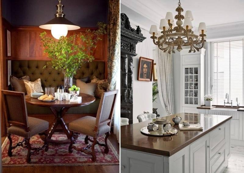 Кухня в английском стиле: дизайн интерьера и пр особенности + фото