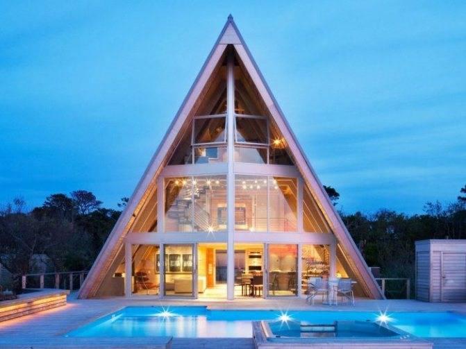 Виды стропильной системы двухскатной крыши: для маленьких и больших домов