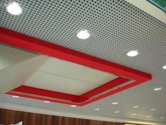 Как сделать монтаж потолков грильято своими руками, правильно выбрать дизайн и светильники, фото и видео примеры