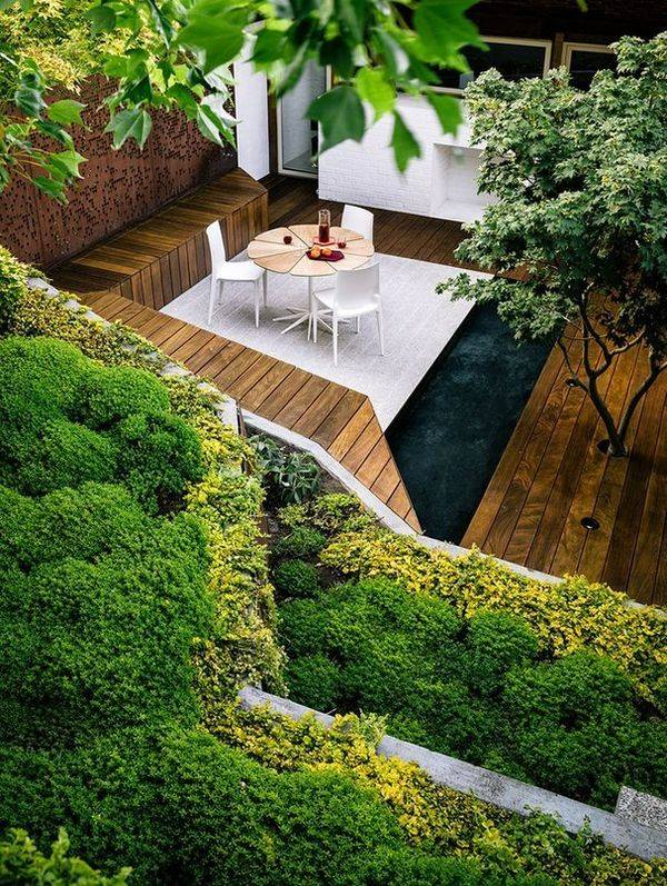 Ландшафтный дизайн участка площадью 6 соток (81 фото): планировка дачного участка, красивые проекты садовой зоны