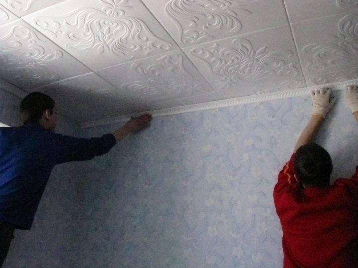 Потолок из пенопласта: плюсы и минусы
