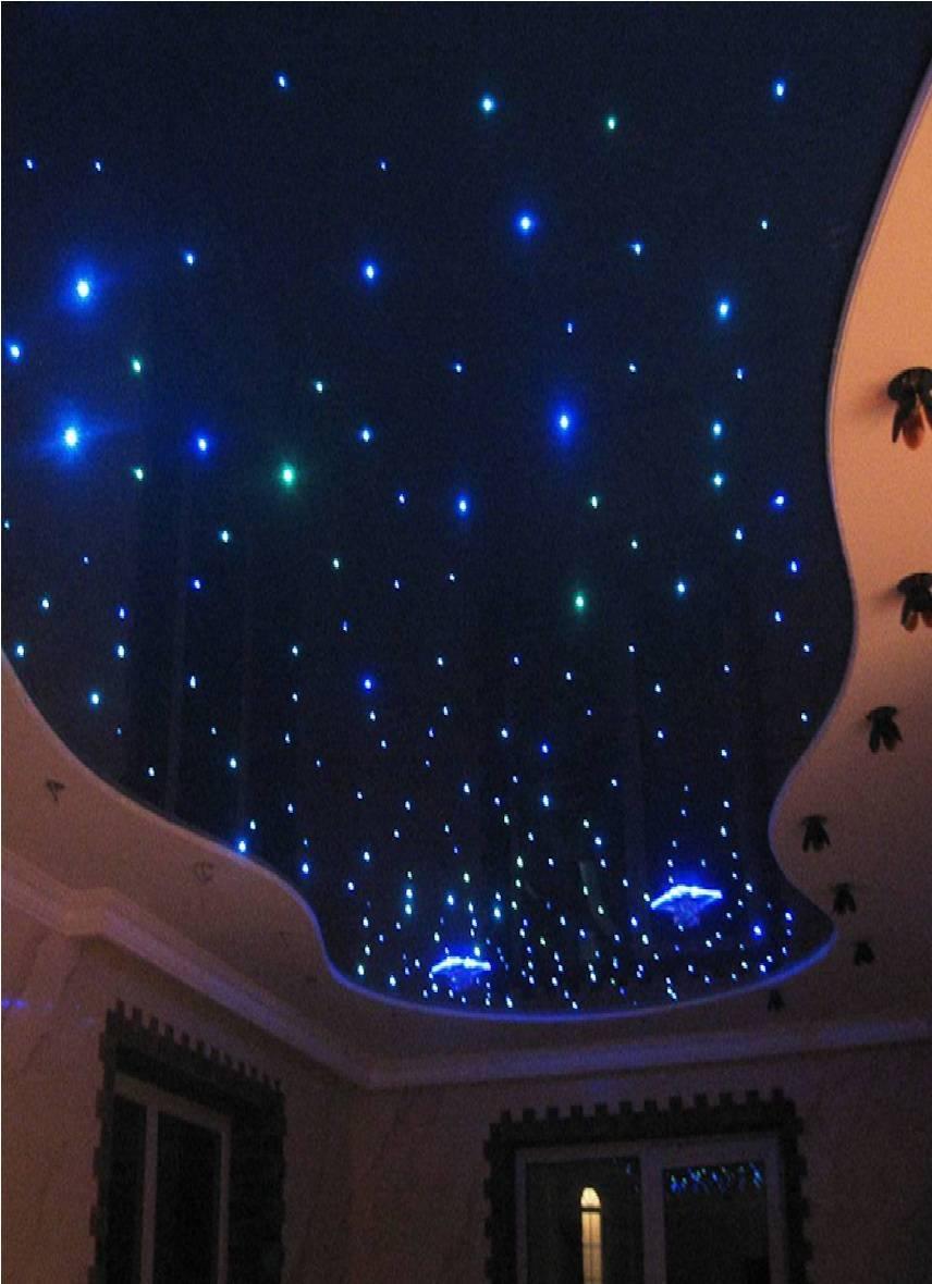 Натяжной потолок «звездное небо» (49 фото): потолок с эффектом черного ночного неба со звездами, модели с облаками, отзывы