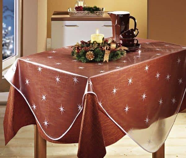 Из какой ткани сшить скатерть на стол: виды тканей, советы по выбору