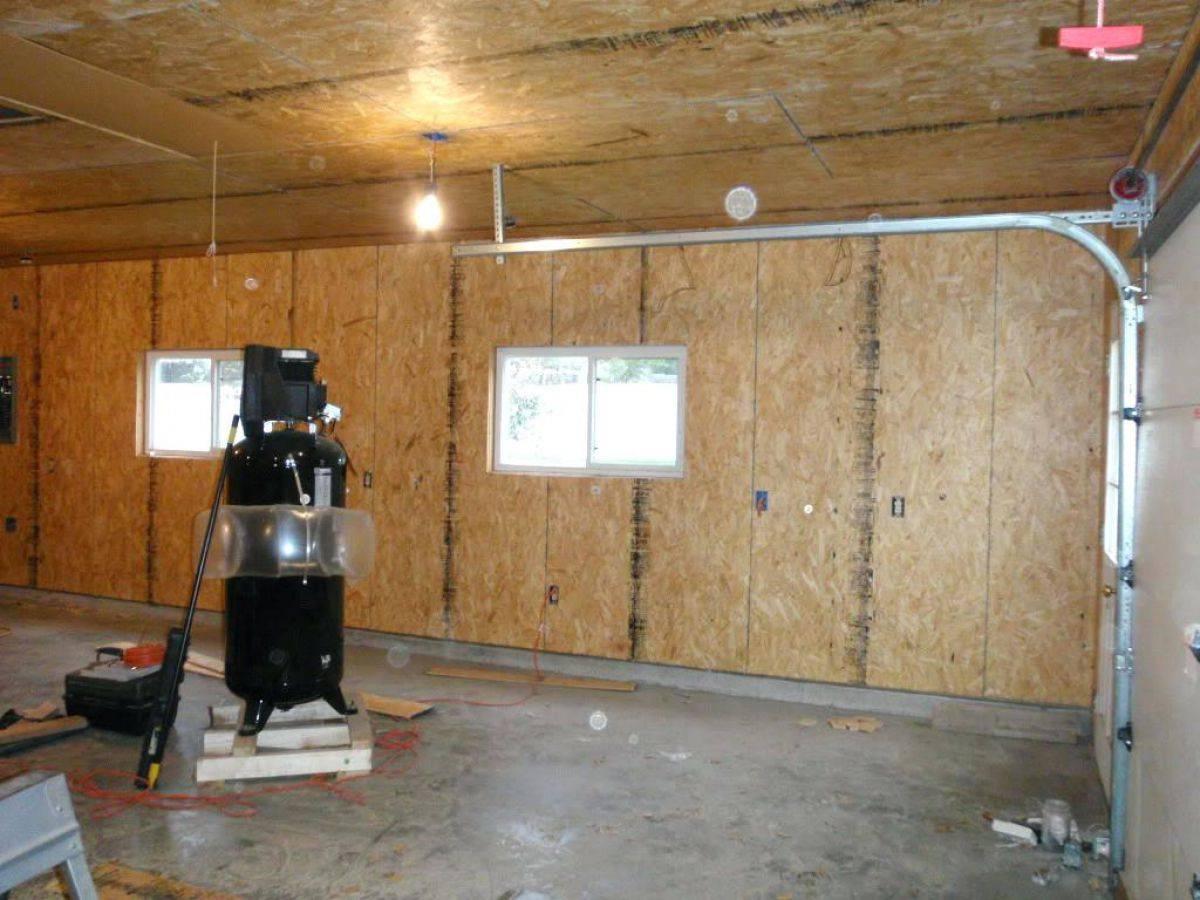 Внутренняя отделка гаража своими руками: обшивка стен, ворот и не только
