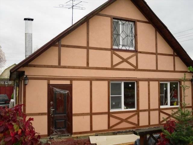 Как выглядит дом фахверк? подборка реализованных объектов.
