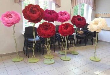 Искусственные цветы своими руками из разных материалов: интересные идеи