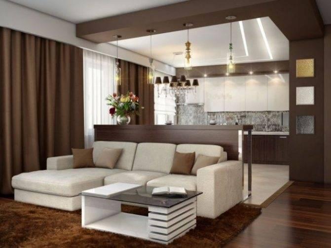 Дизайн небольшой кухни-гостиной 30 кв м с фото примерами
