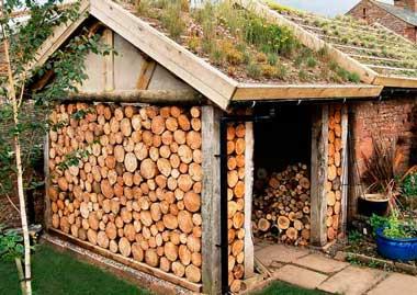 Как сделать навес для дров на даче своими руками: из дерева, металла, поликарбоната — что луше? Советы, идеи дизайна, Инструкция