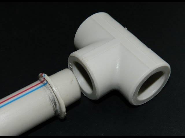 Монтаж полипропиленовых труб: разновидности изделий и их достоинства, видео уроки монтажа своими руками