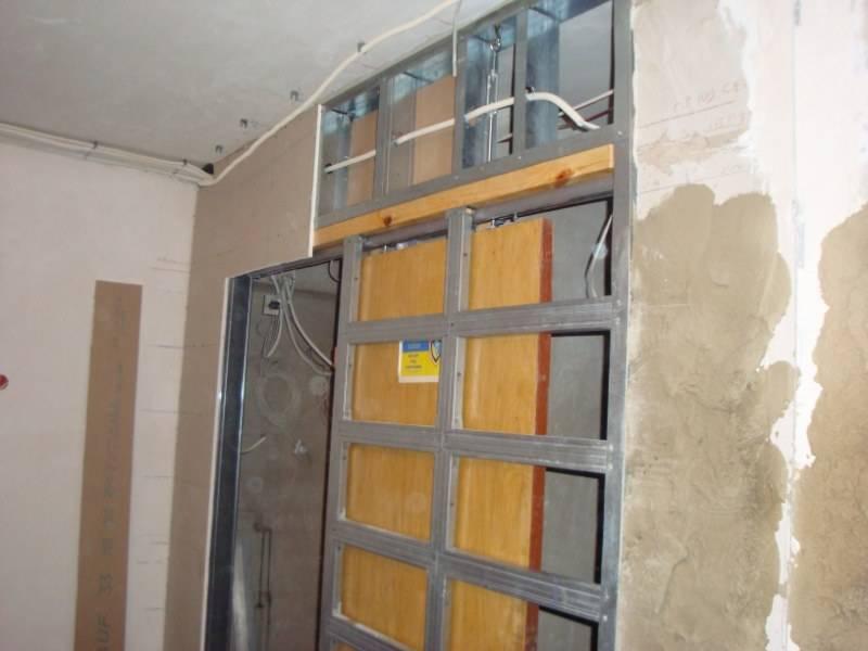 Правильная перегородка из гипсокартона с дверью | gipsportal как сделать перегородку из гипсокартона с дверями? — gipsportal