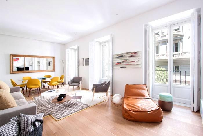 Дизайн квартиры с высокими потолками | «печёный»