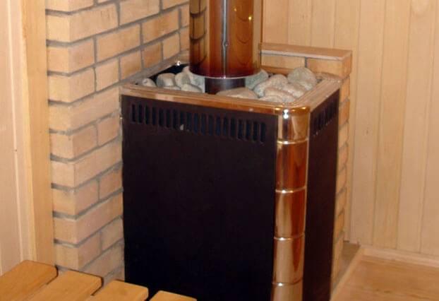 Установка печи в бане: пошаговая инструкция