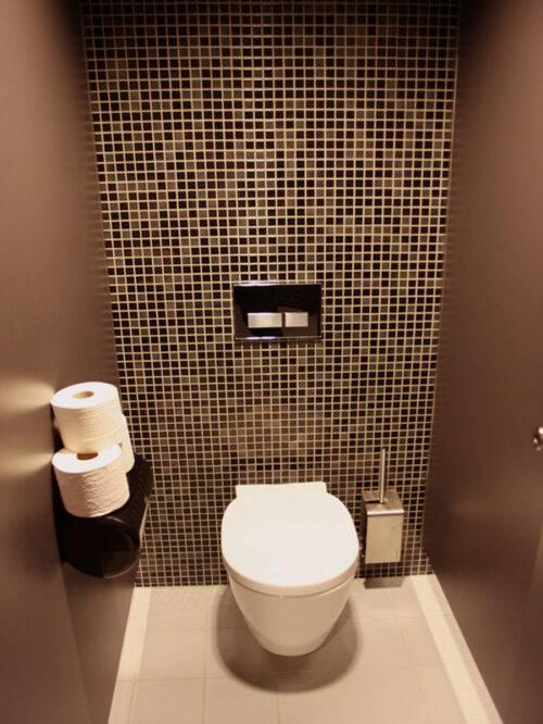 Чем можно отделать стены в туалете кроме кафельной плитки?