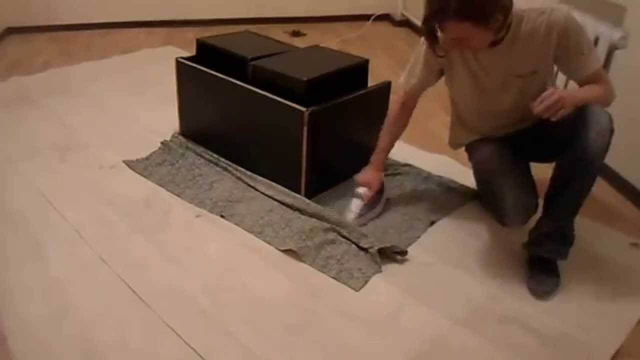 Как разгладить линолеум на полу: правила и способы выравнивания своими руками