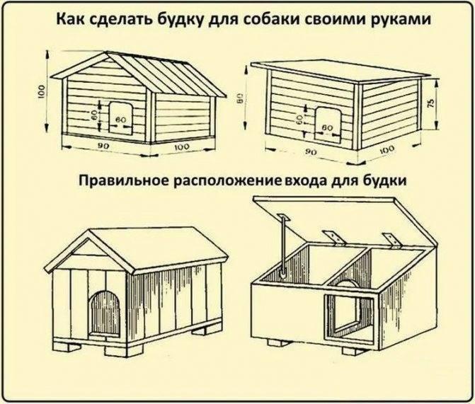 Будка для собаки своими руками - пошаговые инструкции!
