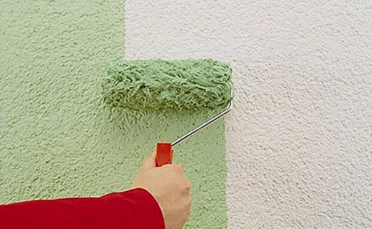 Норма расхода фасадной краски на 1м2 по бетону