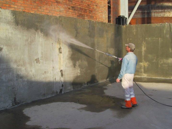 Виды обмазочной  гидроизоляции для бетона