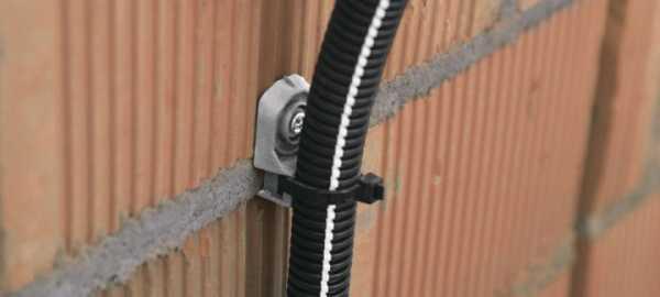 Обзор вариантов крепежей для кабеля
