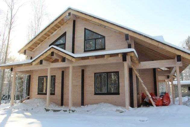 Из чего лучше всего строить дом в климатических условиях спб?
