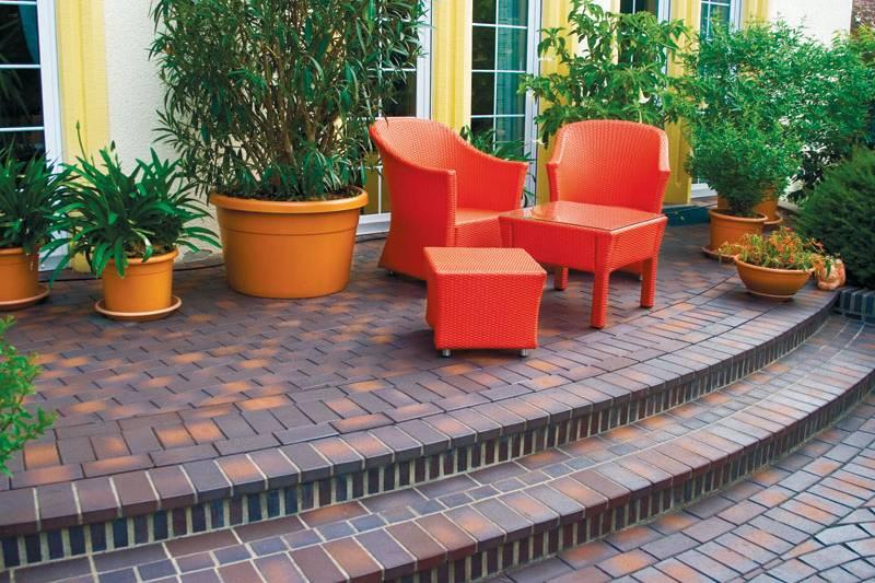 Три способа укладки тротуарной плитки на основу из бетона.