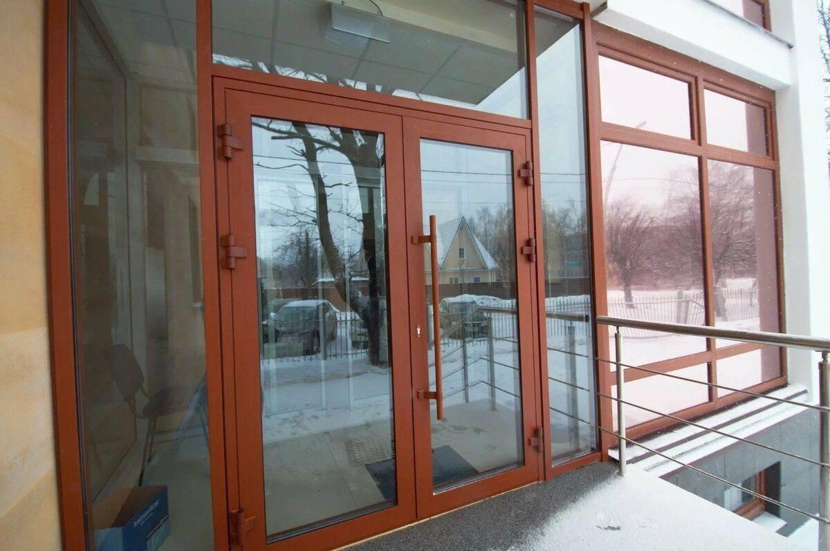 Стеклянная входная дверь — особенности для дома