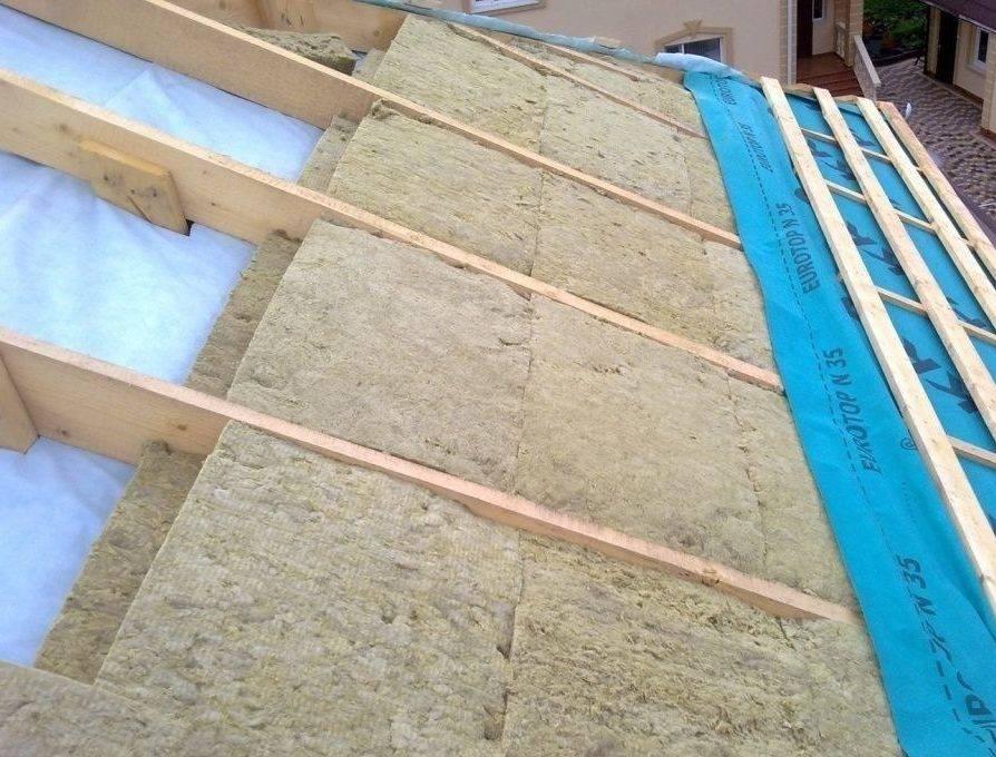 Как утеплить мансарду каменной ватой: пошаговый процесс утепления стен, пола и потолка