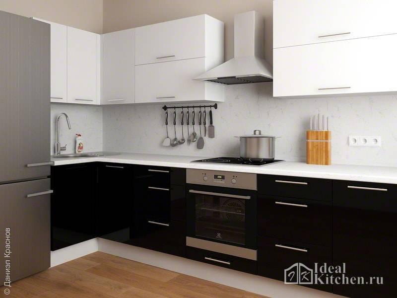 Цвет кухни: сочетания цветов, реальные фото примеры