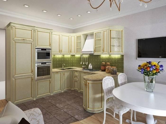 Идеи дизайна кухни 11 кв м с диваном своими руками