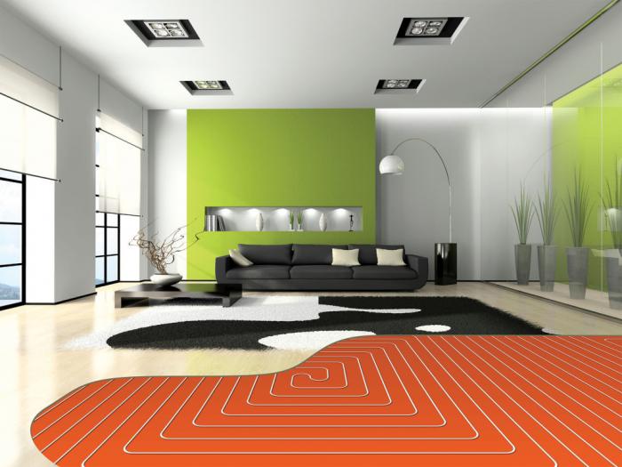 Теплый пол под линолеум: можно ли стелить электрические полы на бетонную основу, пленочный или инфракрасный вариант на деревянный пол, тонкости монтажа, отзывы